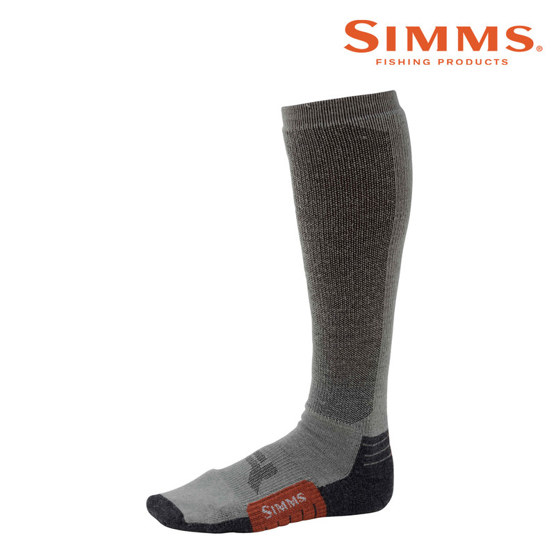 Simms Guide Midnight Sock Side View