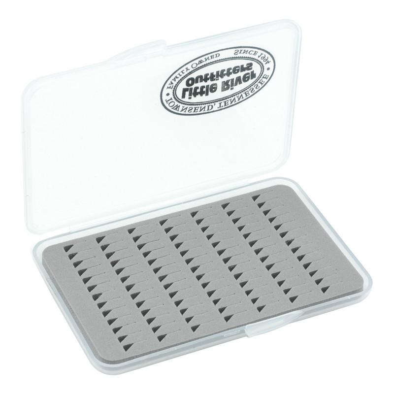 LRO Slim Slit Foam Fly Box 1426 Shown Open