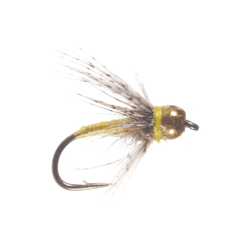 Bead Head Yellow Soft Hackle