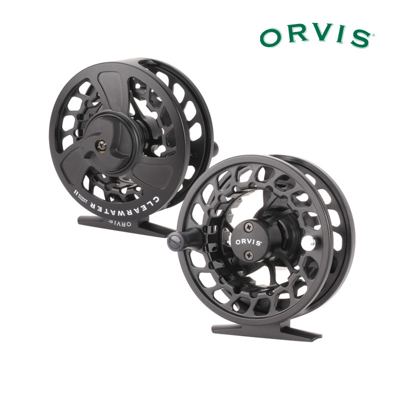 Orvis Clearwater Large Arbor Reels Front and Back View