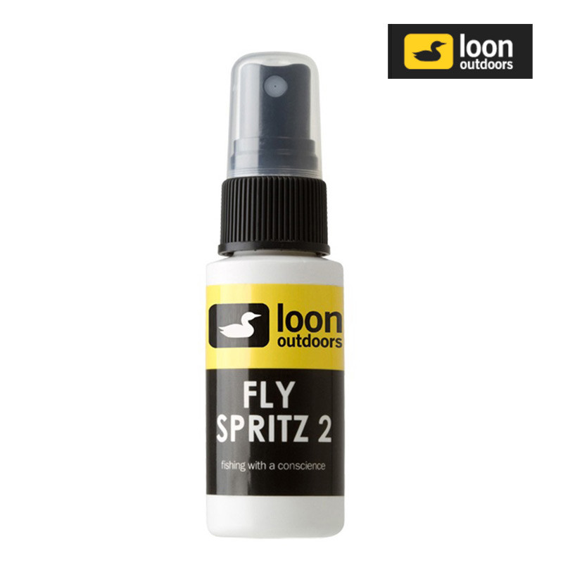 Bottle of Loon Fly Spritz 2 Dry Fly Floatant