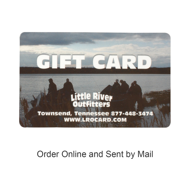 "Gift Card and the words, ""Buy Online and Sent by Mail""."