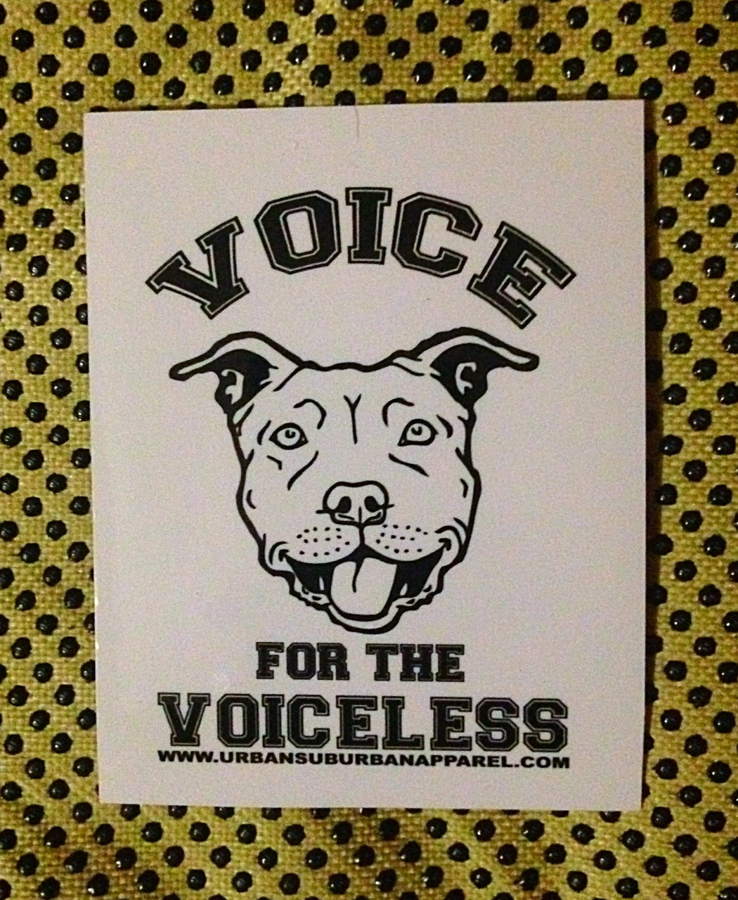 VOICE FOR THE VOICELESS Sticker Packs