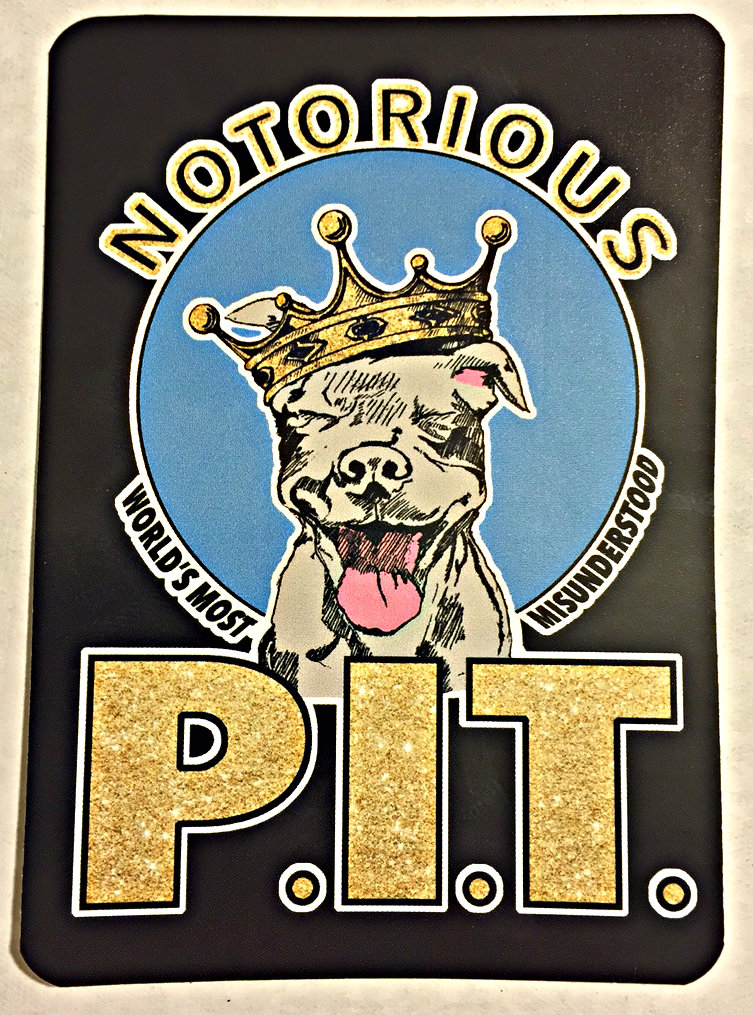 NOTORIOUS P.I.T. Stickers