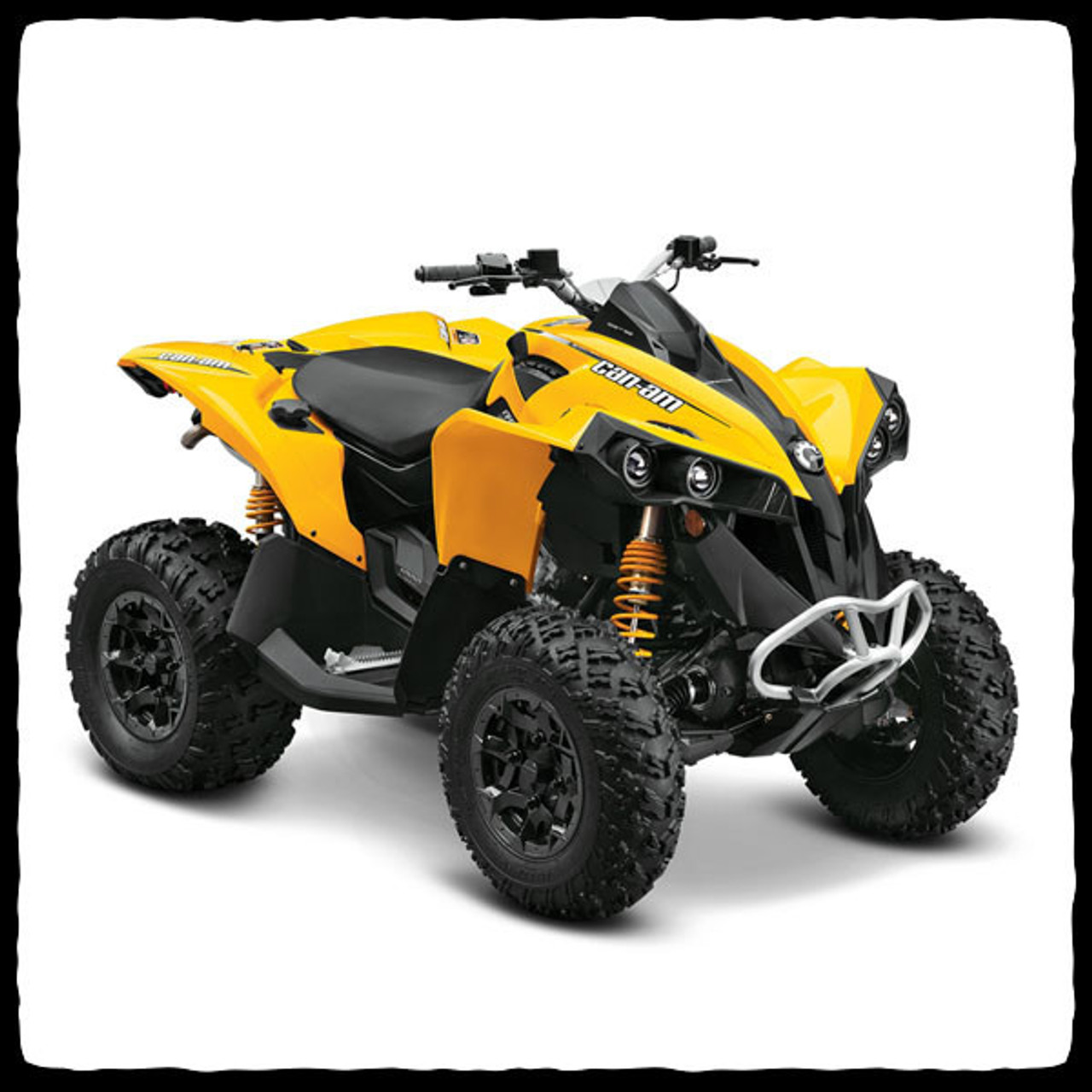 Can Am 1000 >> Barkers Can Am Renegade 1000 Atv Full Exhaust System Redneck