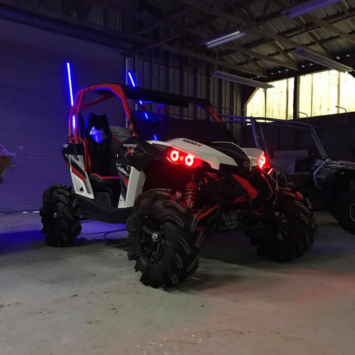 R&R LED Lighting Can-am Halo Kit (Maverick, Commander ...