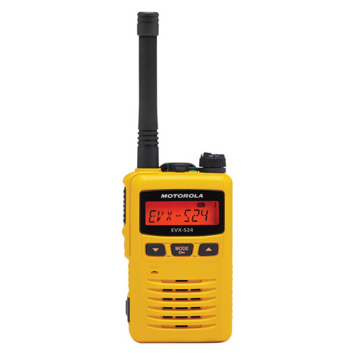 EVX-S24 Portable Digital Two-Way Radio | Yellow