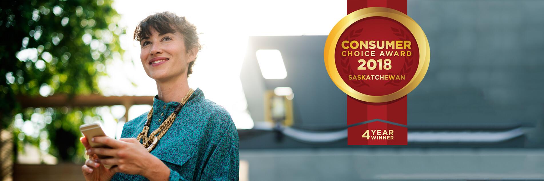 Consumer Choice Award 2018 - 4 Year Winner!