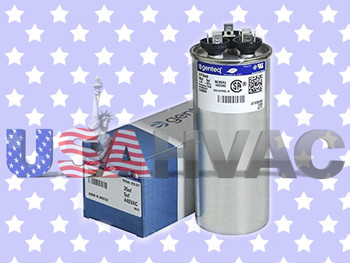 024-25527-000, 024-25527-700 - OEM York Coleman Luxaire Dual Run Capacitor
