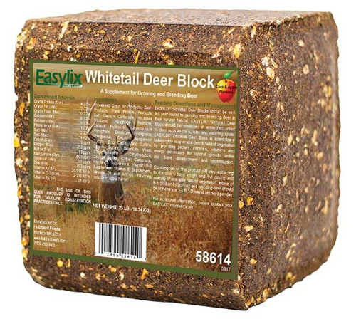 Easylix® Whitetail Deer Blocks