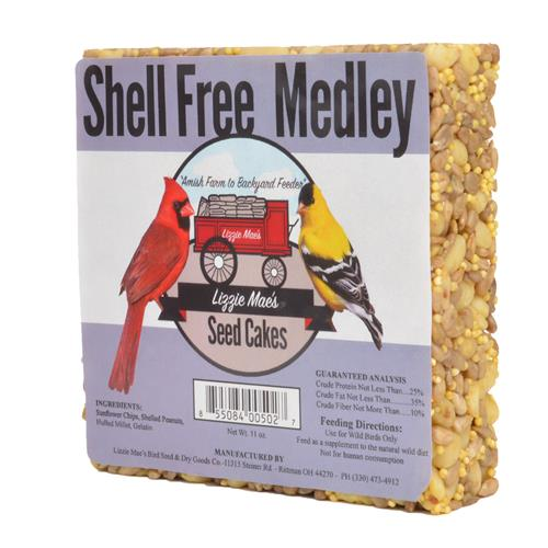 Shell Free Medley Seed Cake