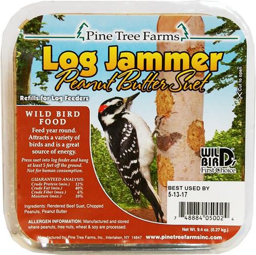 Log Jammer Peanut Suet