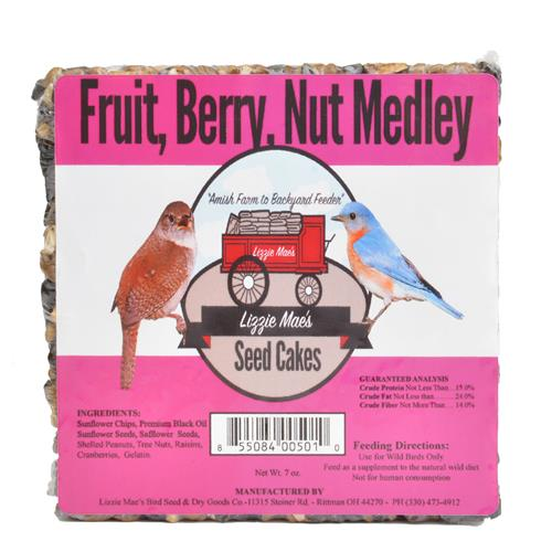 Fruit Berry & Nut Medley Seed Cake - Large