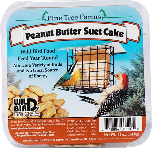 Peanut Butter Suet Cake 3LB