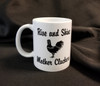 RISE & SHINE MOTHER CLUCKERS COFFEE MUG