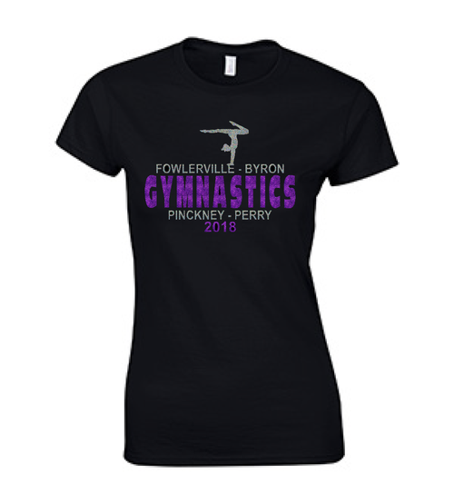 FHS GYMNASTICS SPONSOR T-SHIRT