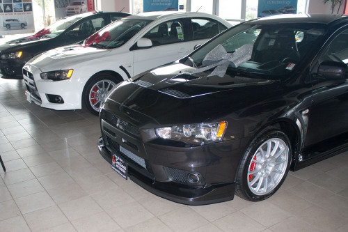 2012-2016 Mitsubishi Lancer Evolution with Aero Kit
