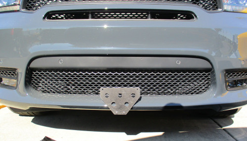STO N SHO Removable Front License Plate for Dodge