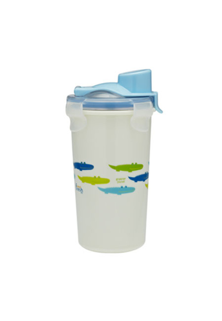 Keepin' SMART Double Insulated Stainless Cup - Blue / Alligator / 12 oz