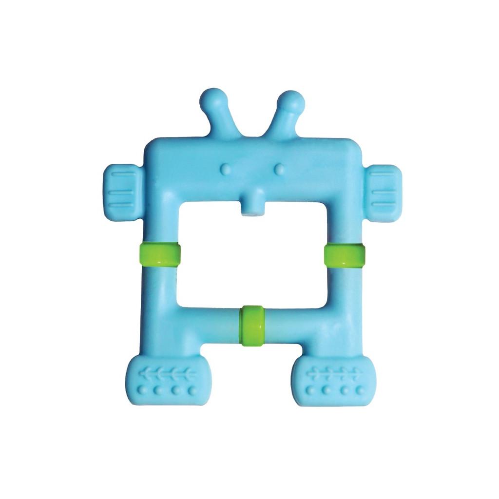 Teethin' Smart  EZ Grip Teether Robot - Blue
