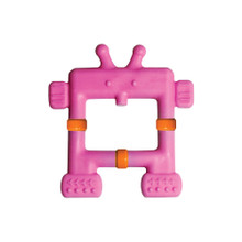 Teethin' Smart  EZ Grip Teether Robot - Pink