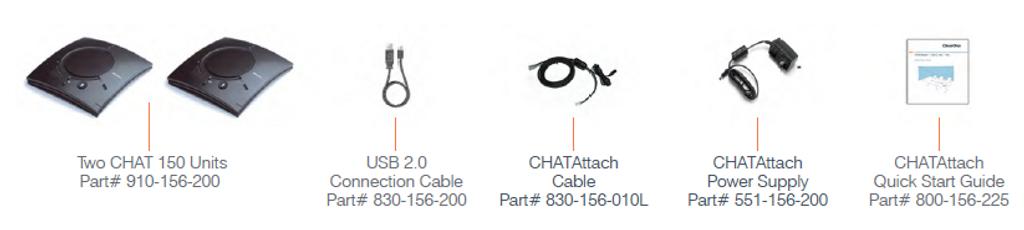 ClearOne CHATAttach 150 USB Speakerphone