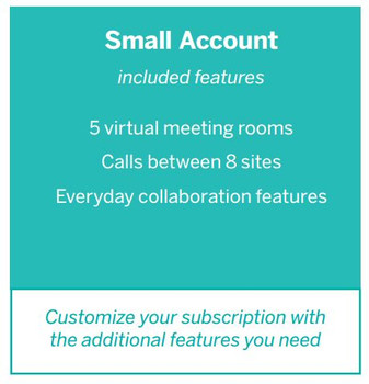 Lifesize Cloud Small Account 1-Year Software Subscription