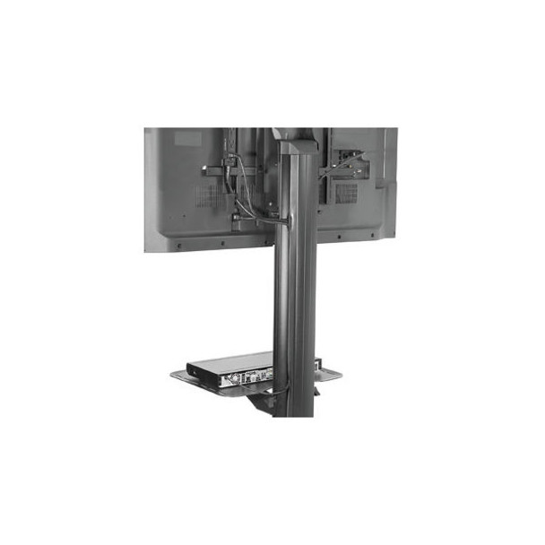 Peerless-AV SmartMount SR560M Flat Panel Cart Metal, Steel - Black