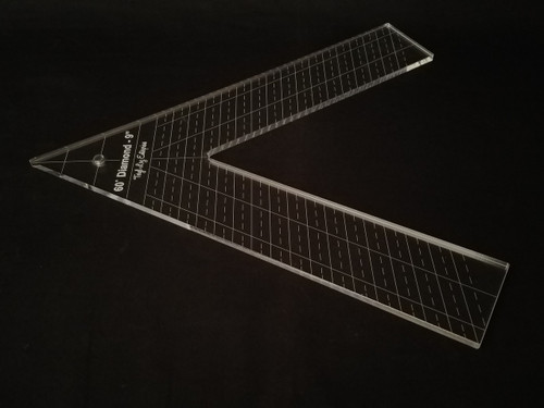 "1/4"" Template, 60' Diamond 9"""