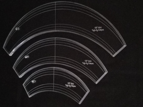 "3/8"" Template, Arc Set"