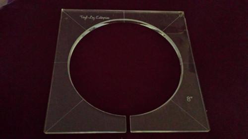 Inside Circle Template, 8 inch diameter