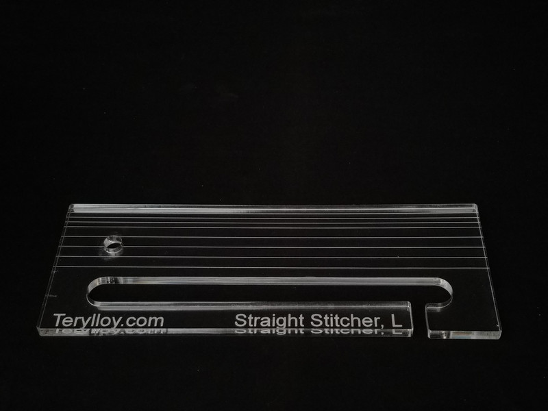 "1/4"" Template, Straight Stitcher / Slotted Ruler, Large"