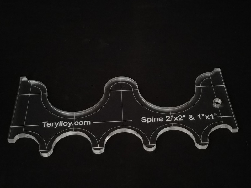"1/4"" Template, Spine SSP-2"