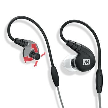 Mee Audio M7P Black Deportivos Cable Intercambiable Micr—fono