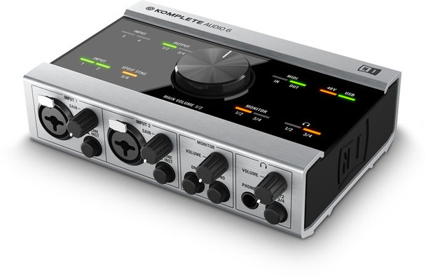 Interface Native Instruments Komplete Audio 6