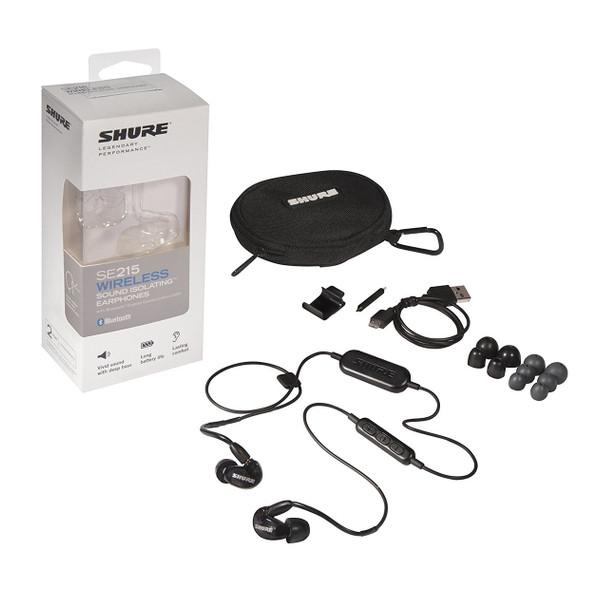 Shure SE215 Wireless In-Ear Monitor Bluetooth