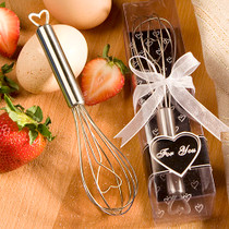 Heart Design Wire Whisk Favours
