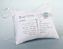 Postcard Ring Pillow