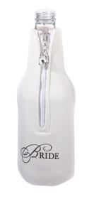 Bride Bottle Cozy White
