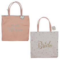 Always Forever' Reversible Tote Bag Bride Newly Mrs.