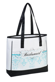 Bridesmaid Tote Aqua
