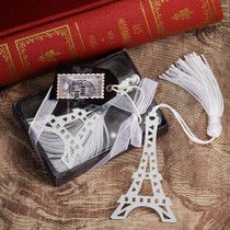 From Paris With Love Collection Eiffel Tower Bookmark Favours