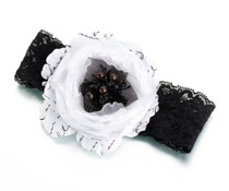 Black And White Garter