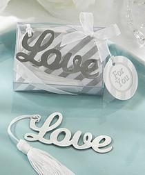 Love Bookmark Favor