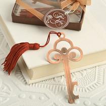 Vintage Copper Colour Skeleton Key Bookmark