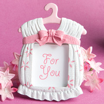 Cute Baby Themed Photo Frame Favours Girl