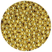 1kg Sugared Balls 4mm Gold