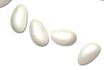 1kg Pearlised Sugared Almonds Whole Almond Ivory