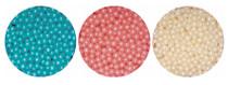 1kg Pearlised Sugared Balls 4mm Pink Pearl