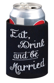 Eat, Drink And Be Married Cup Cozy